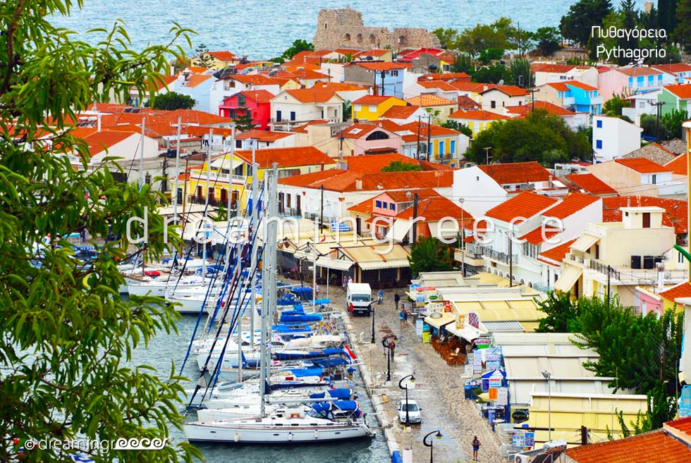 Explore Pythagorio Samos island