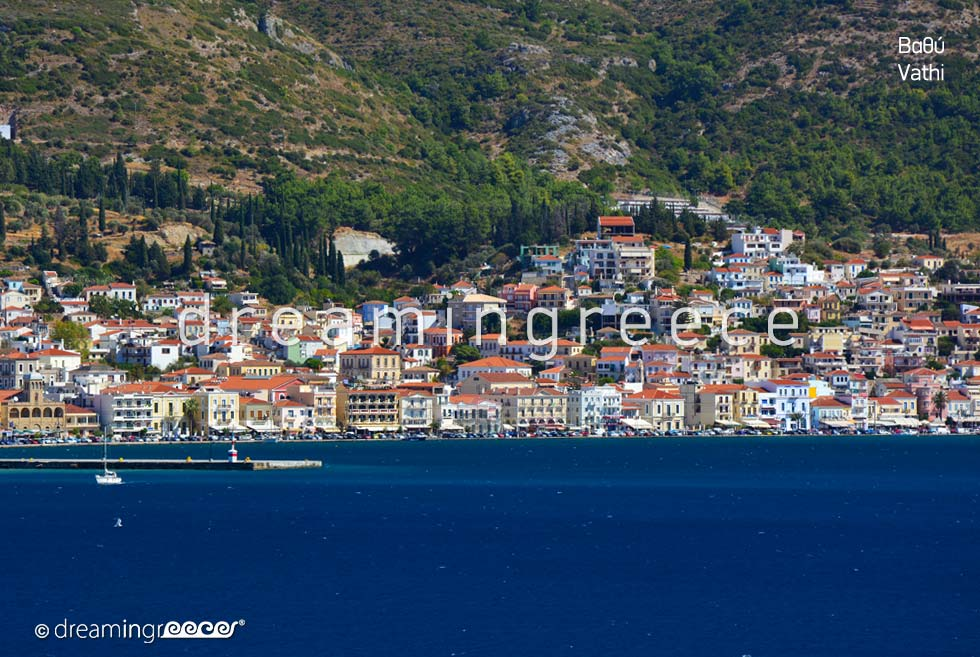 Vacations in Vathi Samos island Northeastern Aegean Islands Greece