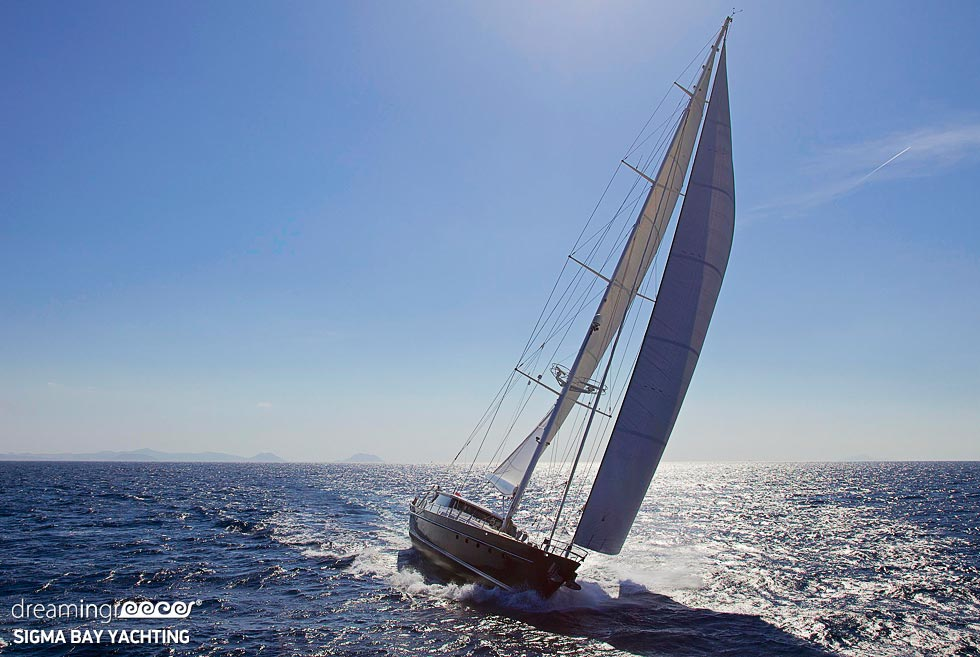 SigmaBay Yachting. Sailing the Greek islands Charter. Travel Guide of Greece.