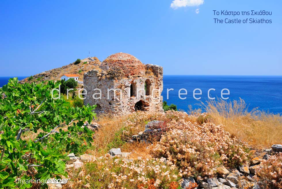 Visit the Castle of Skiathos island Sporades Islands Greece
