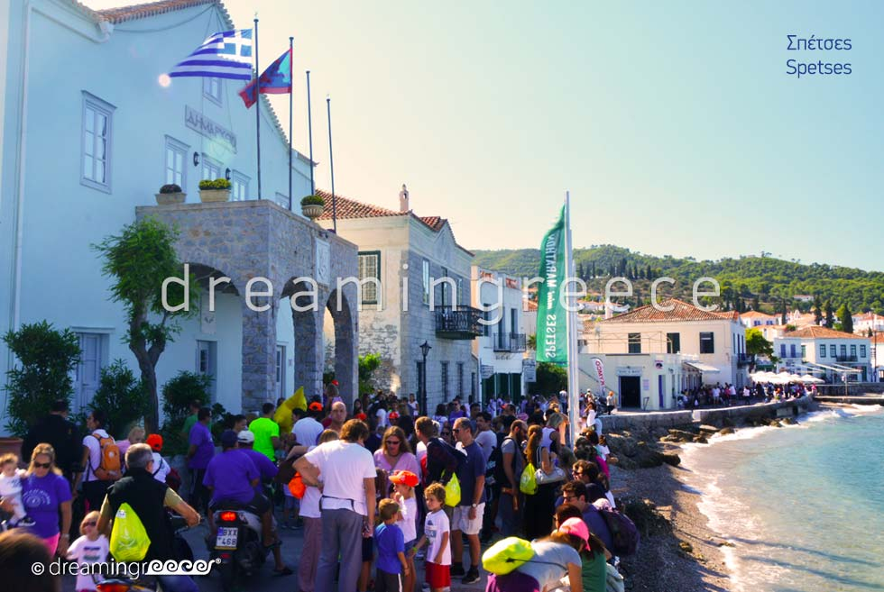 Spetses Mini Marathon island Greece