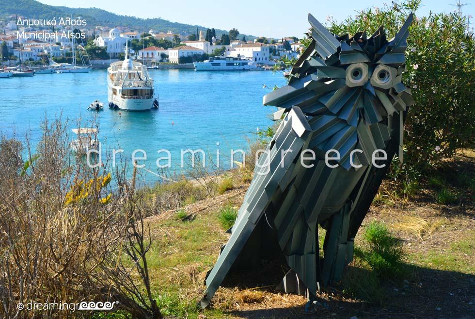 Municipal Alsos Spetses island. Discover Greece