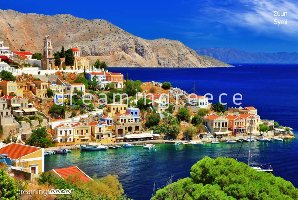 Vacations in Symi island Dodecanese Greece
