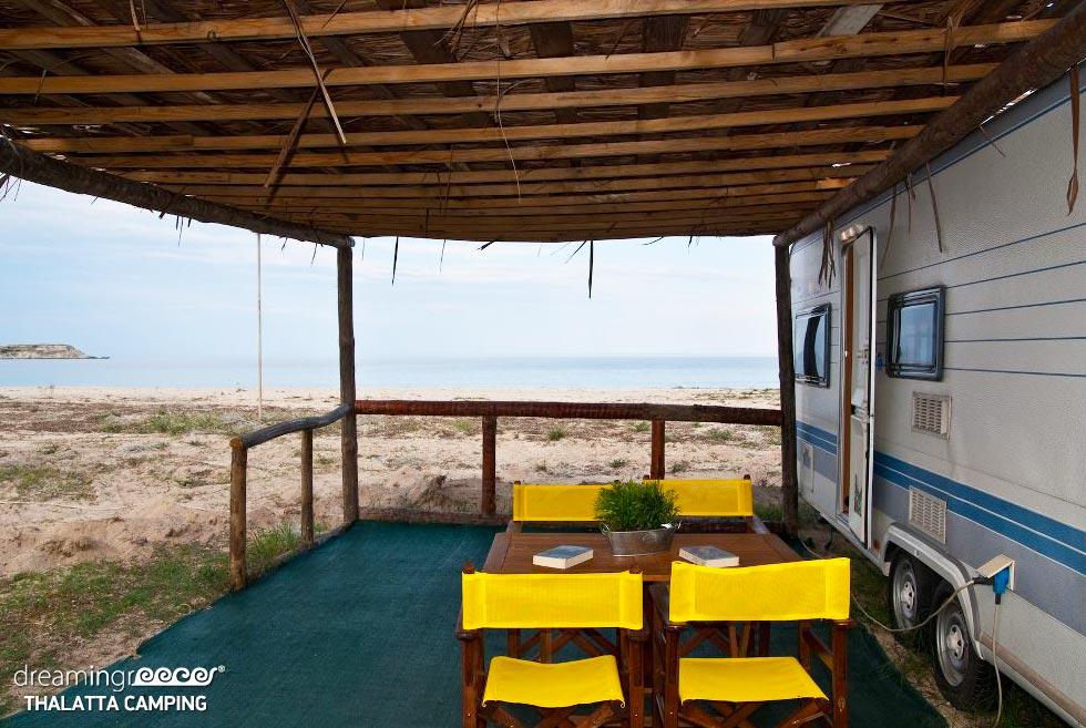Thalatta Kalamitsi Village Camping Halkidiki. Visit Greece.