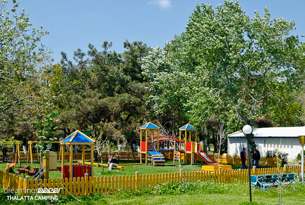Thalatta Kalamitsi Camp Halkidiki Playground