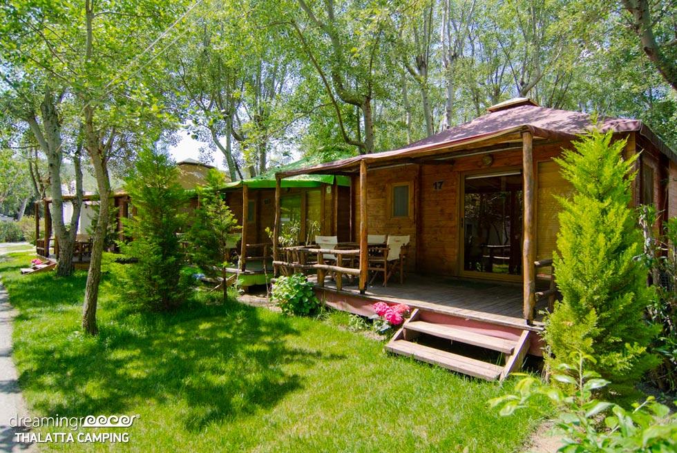 Thalatta Kalamitsi Village Camp. Camping in Halkidiki