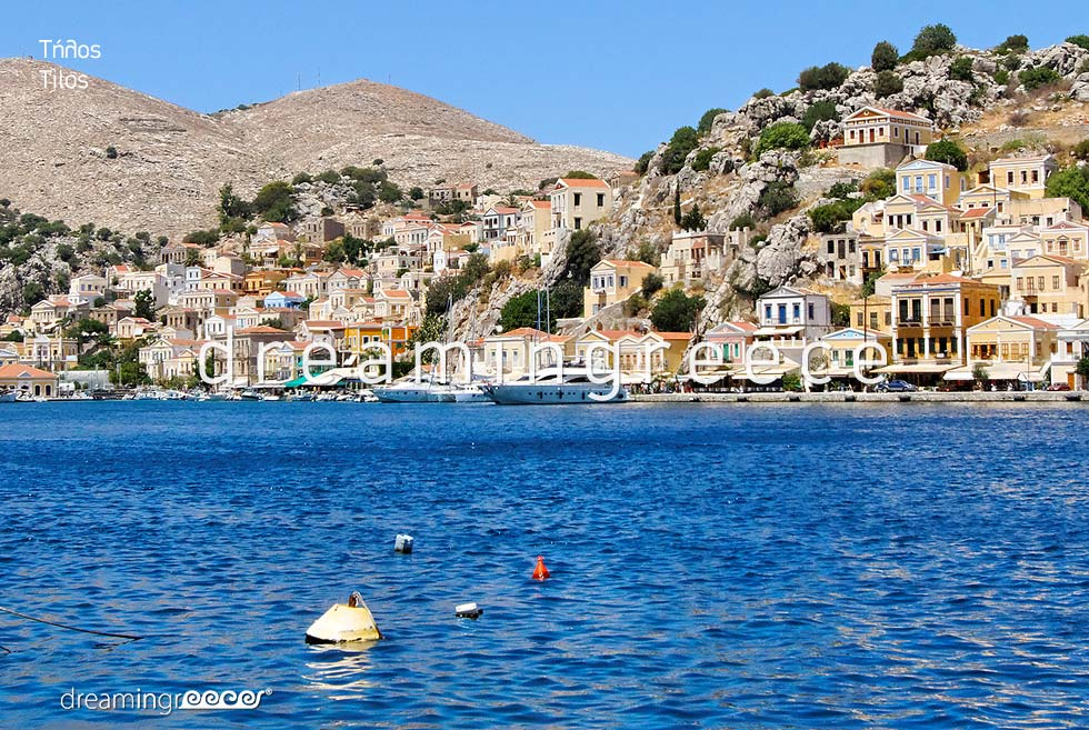 Travel Guide of Tilos island Dodecanese Greece
