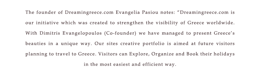 Dream in Greece Travel Guide Text