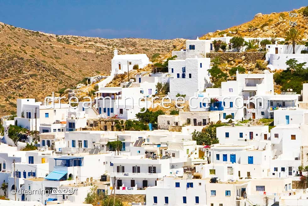 Ios island. Vacations in Greece. Visit Greek islands