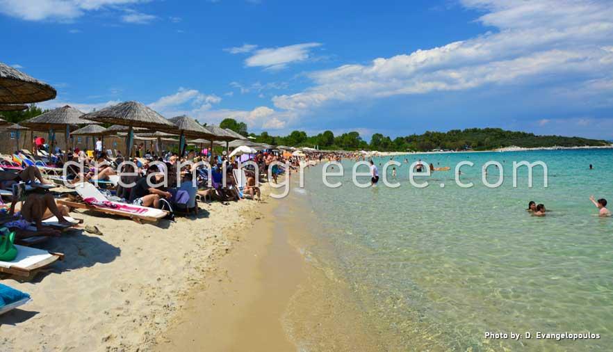 Cabana Beach Halkidiki Beaches Kandra Greece Vacations