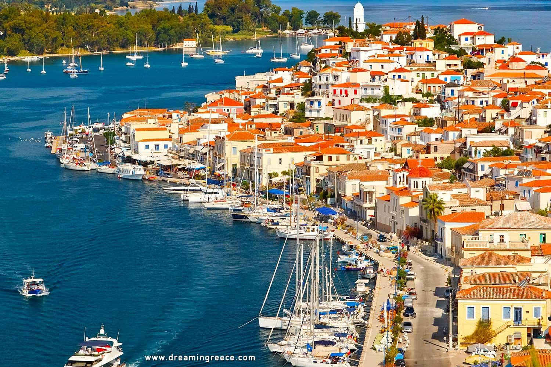 Holidays in Poros island Greece Vacations Argosaronic Islands