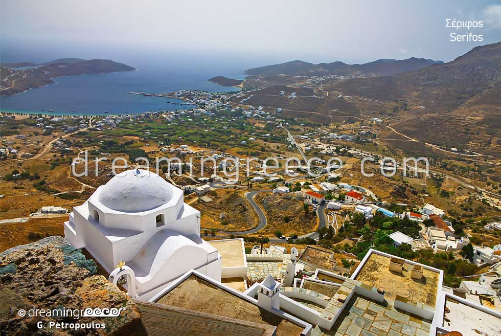 Travel Guide of Serifos island Cyclades Greece