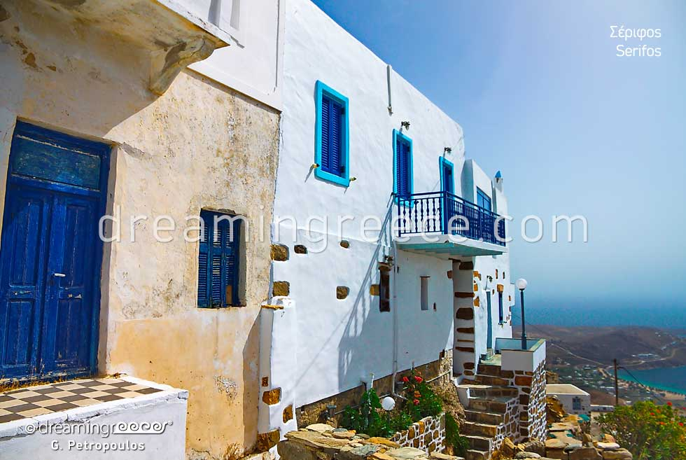 Homes in Serifos island Greece