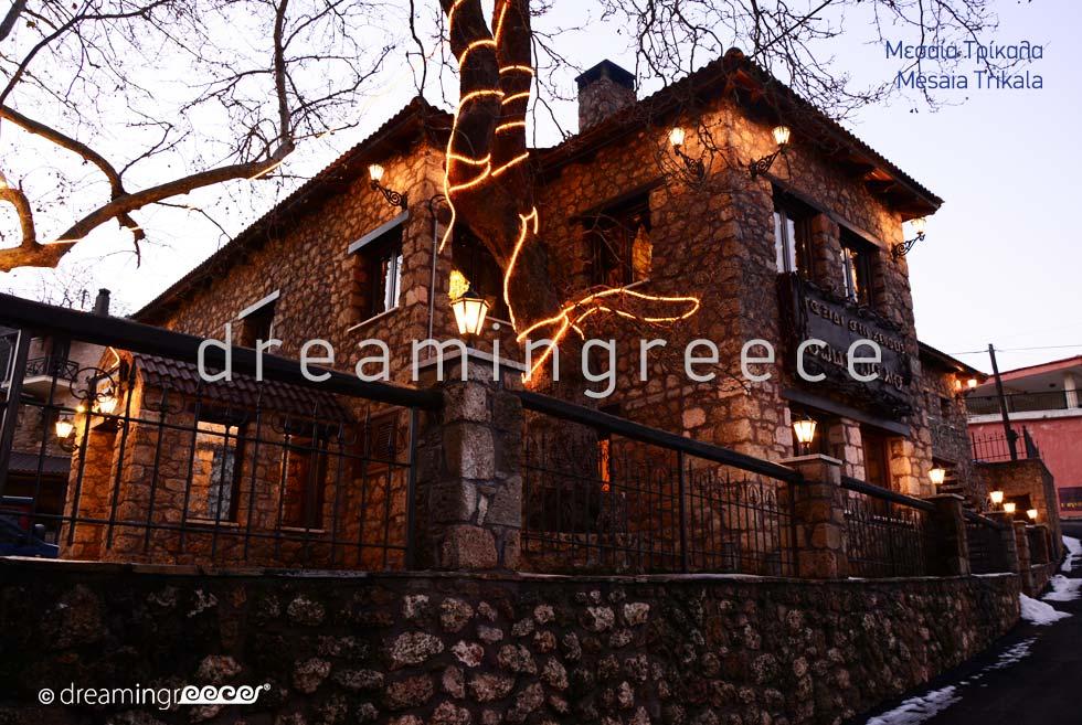 Mesaia Trikala of Corinth Peloponnese Winter Holidays in Greece