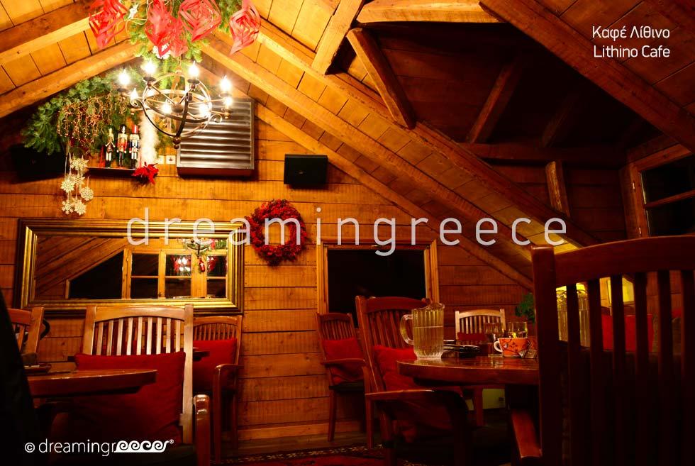 Lithino Cafe Trikala of Corinth Peloponnese Greece