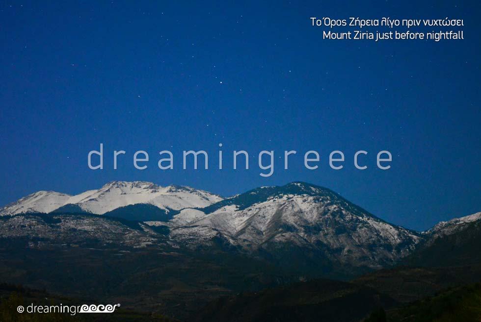 Mount Ziria Trikala of Corinth Visit Peloponnese Greece