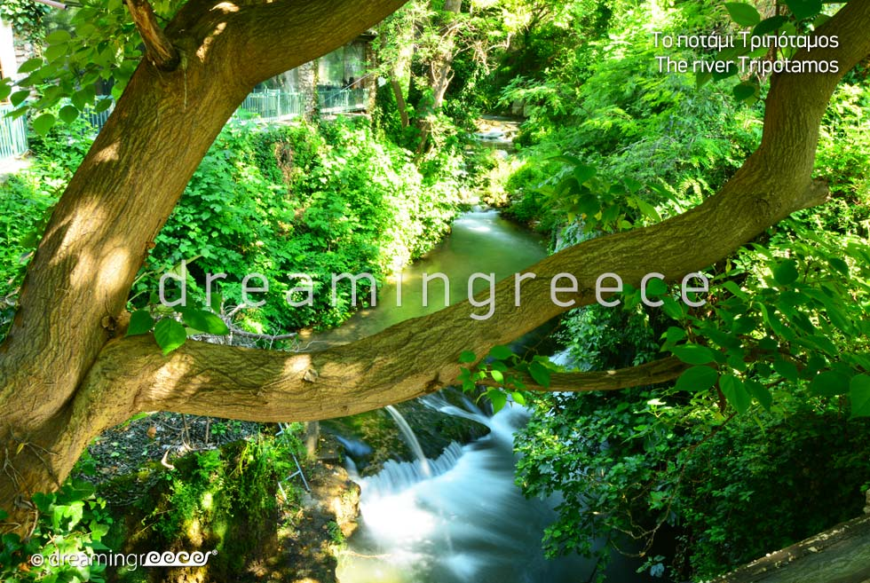 River Tripotamos. Visit Veria Greece.