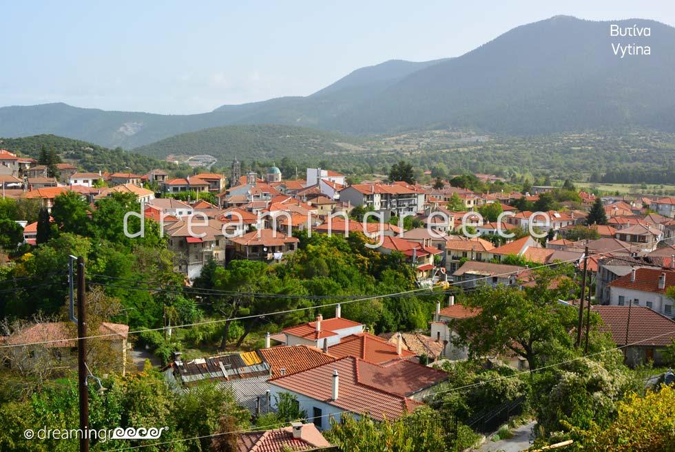Vytina Arcadia Peloponnese Travel Guide of Greece