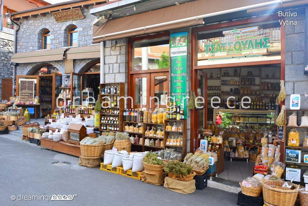 Vytina Arcadia Peloponnese Tourist Guide of Greece