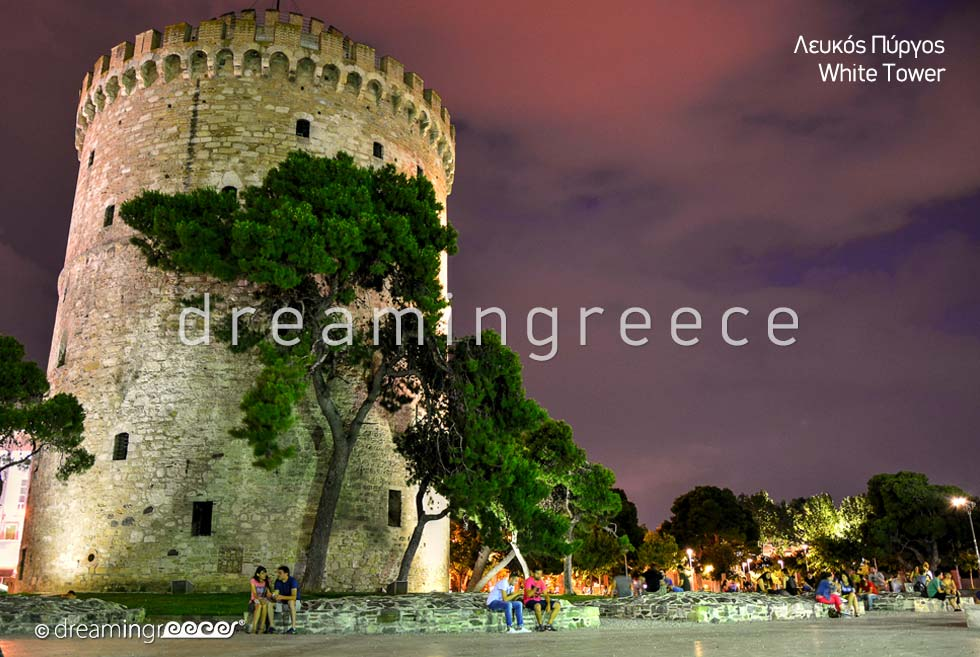 White tower Thessaloniki. Discover  Greece