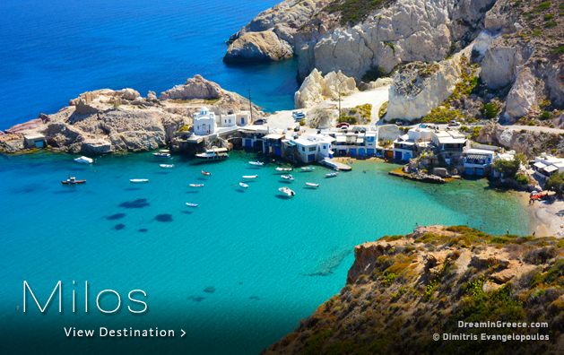 Greek islands Greece. Milos island Greece.