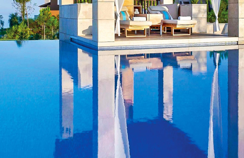 The Romanos Luxury Resort by Costa Navarino. Hotels in Greece. Holidays in Greece.