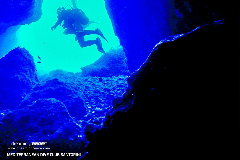 Mediterranean Dive Club Center Scuba Diving in Santorini