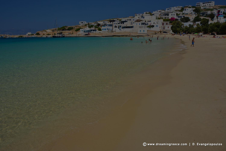 Donousa Beaches Stavros beach Greece