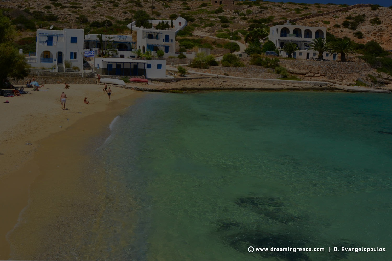 Iraklia Beaches Agios Georgios beach Greece