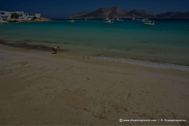 Ammos beach Koufonisia beaches