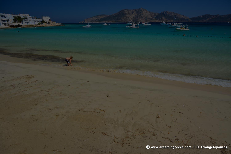 Koufonisia beaches Ammos beach