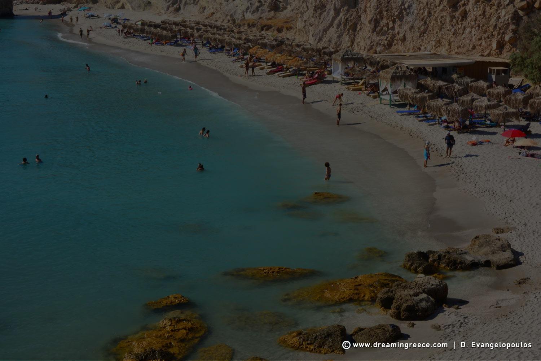 Milos beaches Firiplaka beach