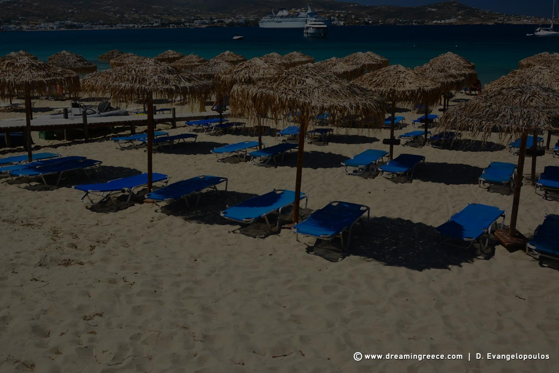 Paros Beaches Greece Martselo beach