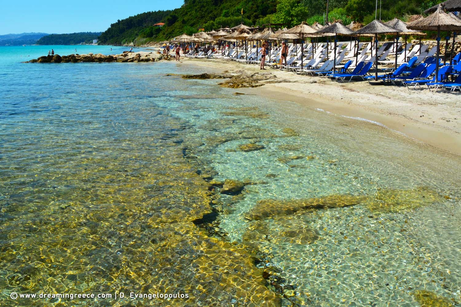 Travel Guide of Halkidiki Holidays. Vacations Greece.