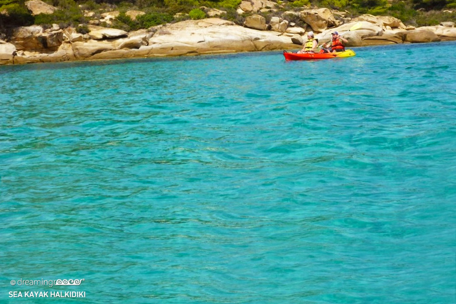 Sea Kayak Halkidiki. Kayaking in Greece.