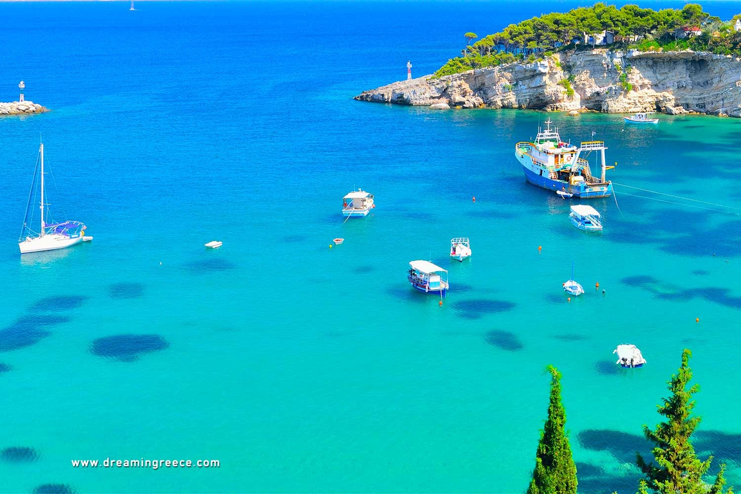 Holidays in Alonissos island Sporades Islands Greece