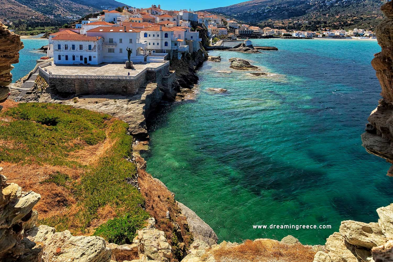 Holidays in Andros island Greece Greek islands DreamInGreece
