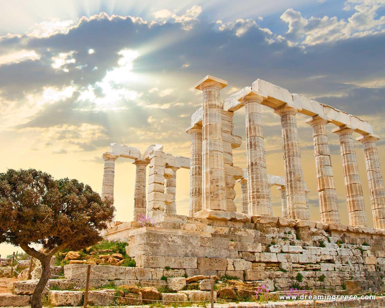 Sounio Athens Greece