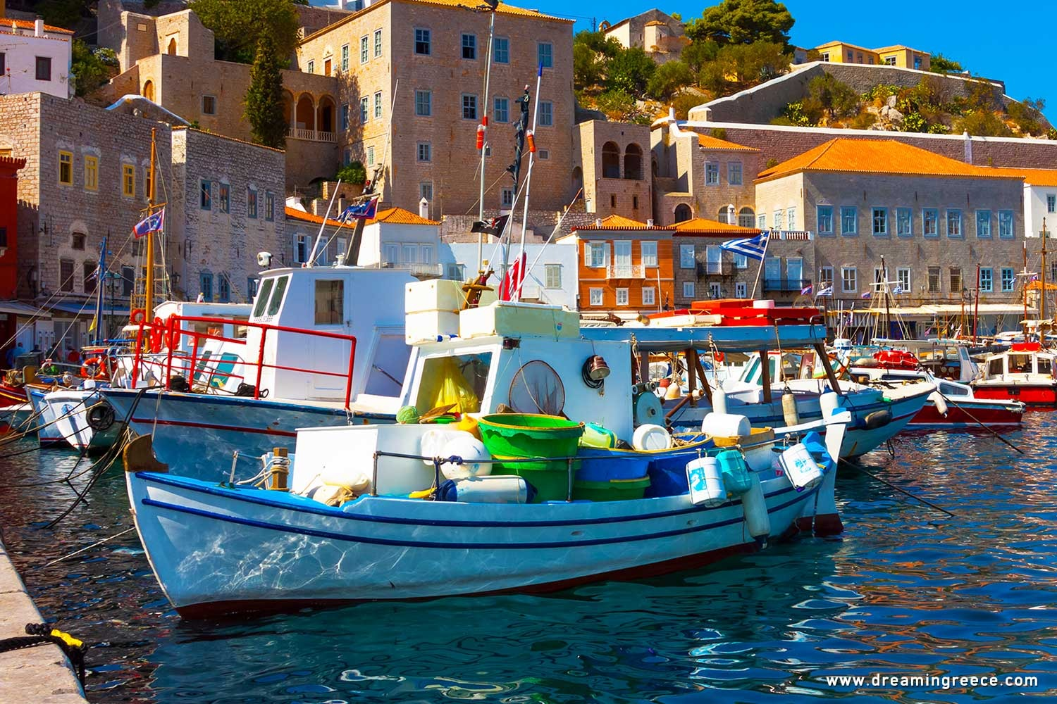 Holidays in Hydra island Vacations Greece Argosaronic islands