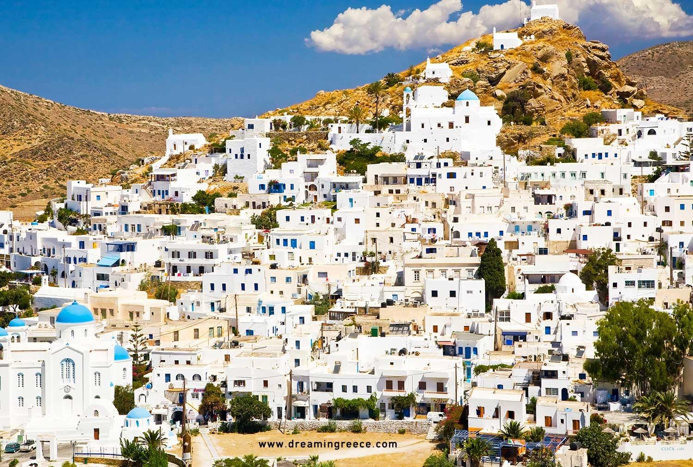 Patios Holidays In Ios Island Greece Greek Islands Dreamingreece
