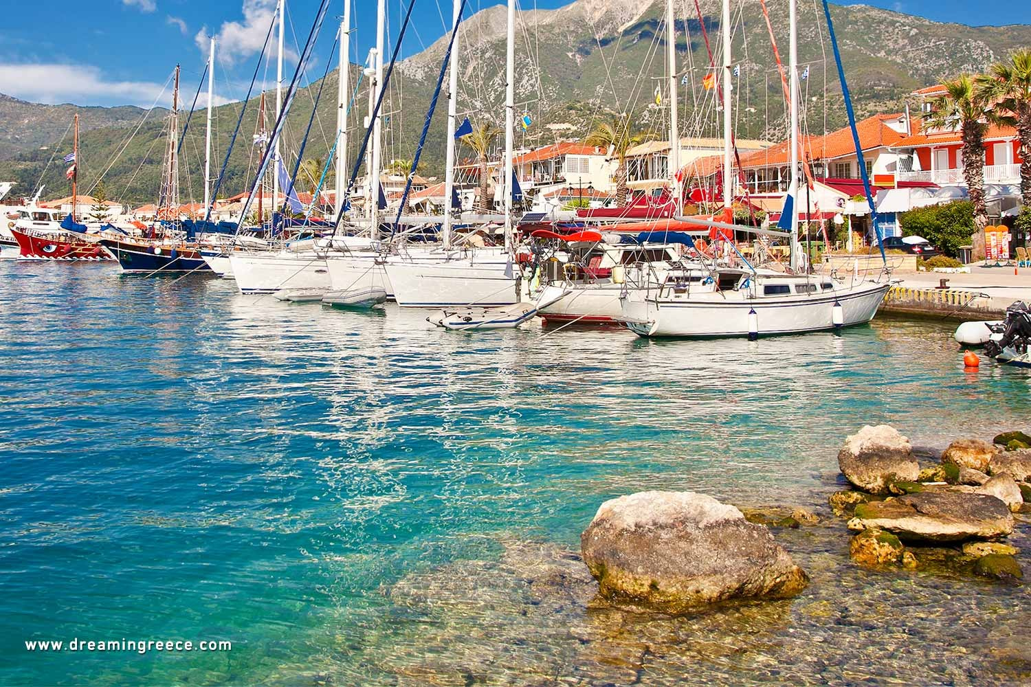 Holidays in Lefkada Meganisi island Vacations Greece Ionian Islands