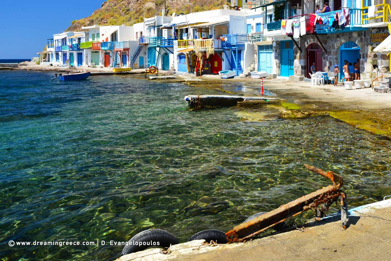 Holidays In Milos Island Greece