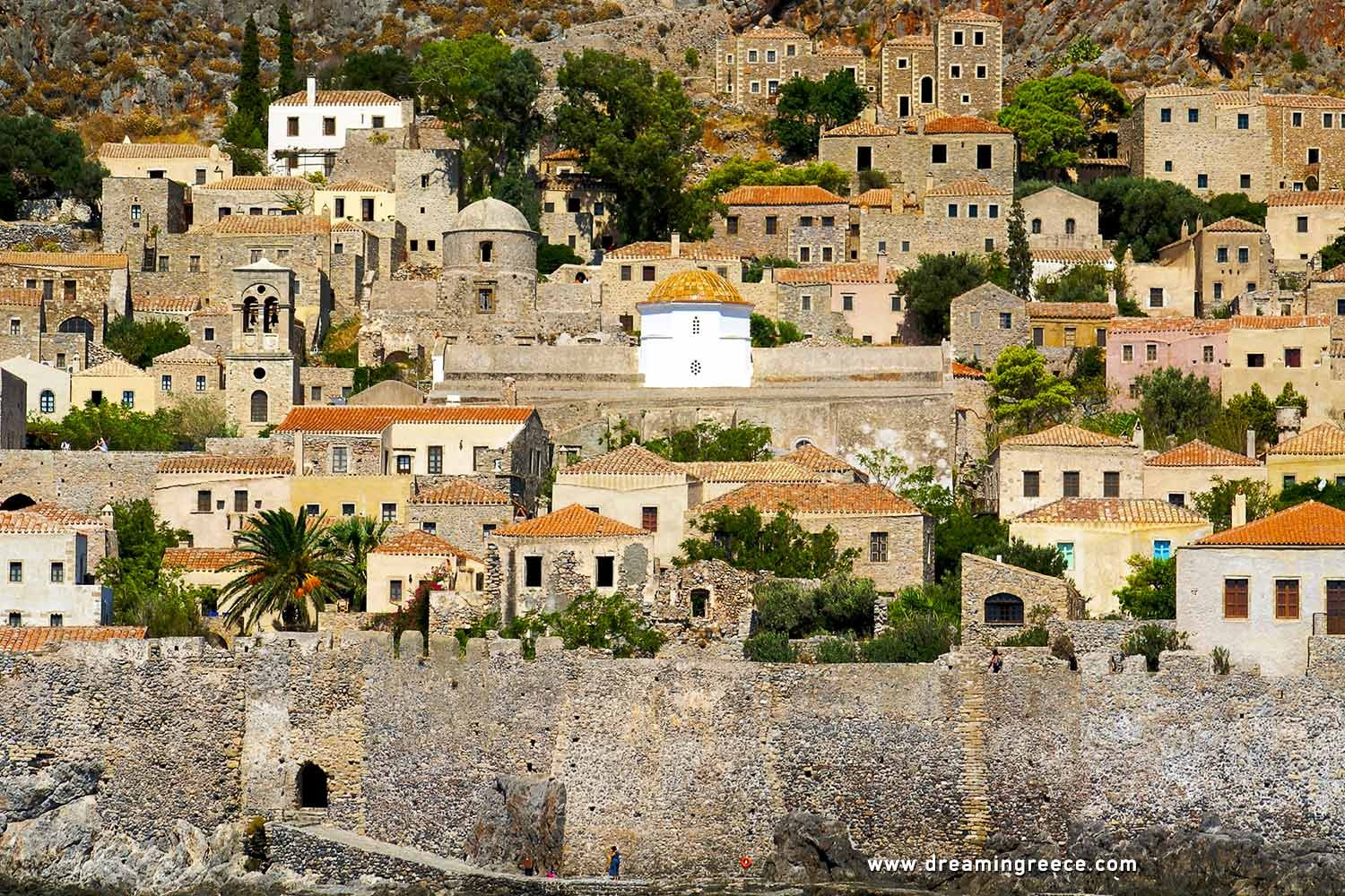 Holidays in Monemvasia Laconia Peloponnese Greece