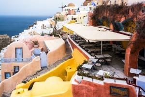 Kastro Oia Houses and Restaurant Santorini Greece