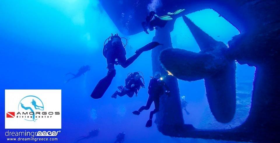 Amorgos Diving Center Scuba Diving in Amorgos Greece. Diving Centers Greece