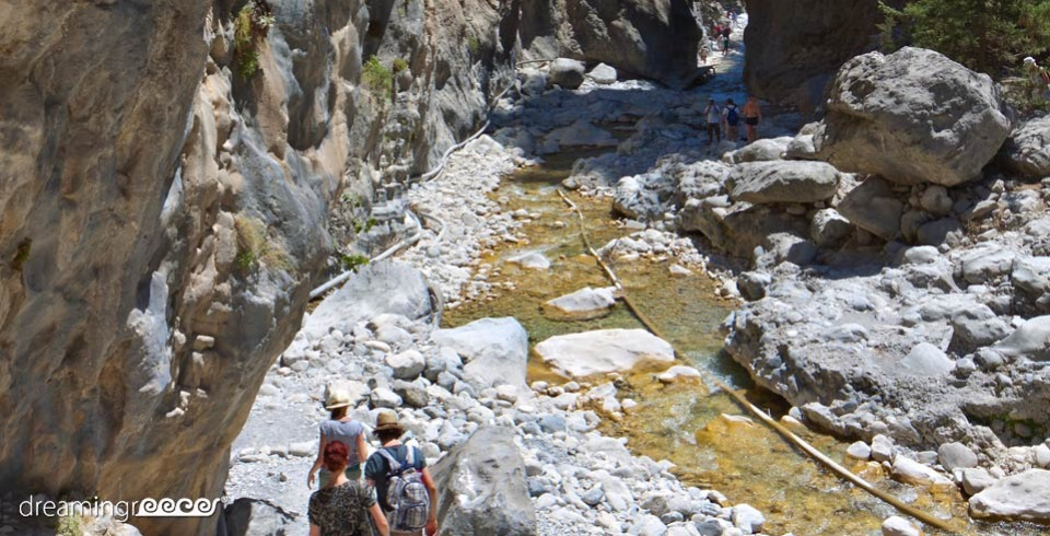 Trekking Hiking Trails in Greece