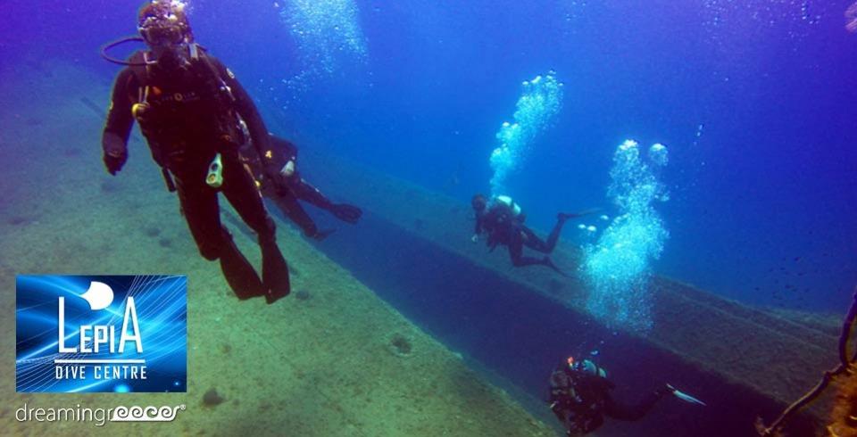 Lepia Dive Centre Rhodes Scuba Diving in Rhodes Greece. Diving Centers Greece