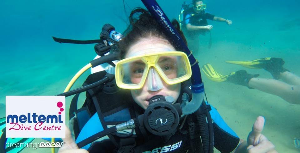 Meltemi Dive Center Ios Scuba Diving in Ios Greece. Diving Centers Greece