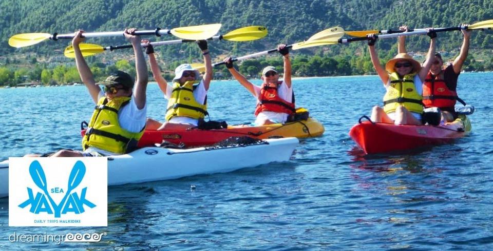 Sea Kayak Kayaking in Greece Halkidiki