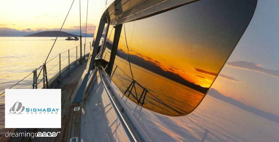 Sigmabay Yachting Charter. Sailing in Greece and the Greek islands. Yacht Charter Greece.
